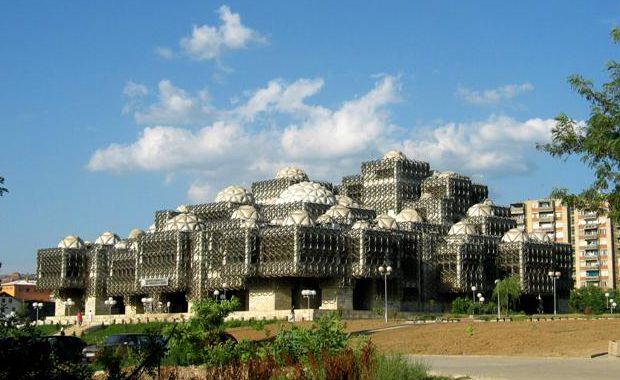 hyperliteratura-Biblioteca-Națională-din-Priștina-Kosovo