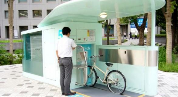 (FOTO și VIDEO) Cum arată o parcare inteligentă pentru biciclete