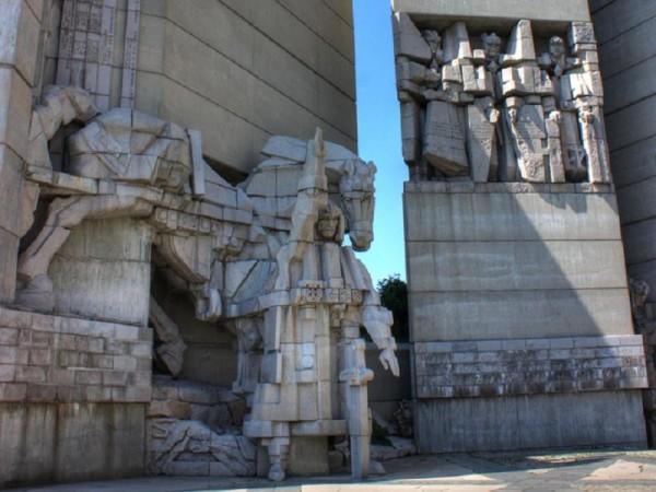 Monumentul Șumen, din Bulgaria, o construcție dedicată istoriei țării.
