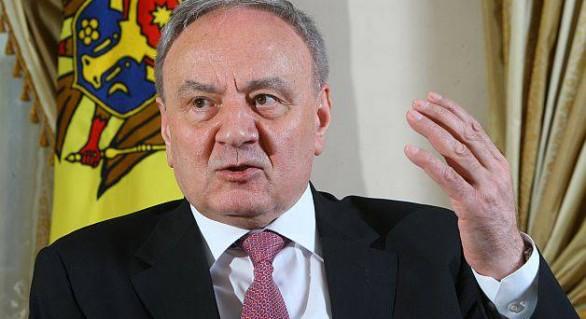 Timofti, la Așgabat: Moldova nu este stat neutru atâta timp cât trupele ruse se află în Transnistria