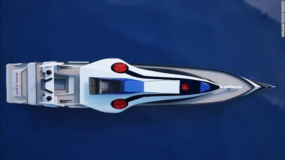Iaht Monaco 2050. Foto Vasily Klyukin