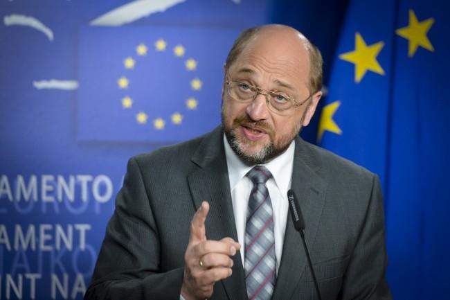 Martin Schulz critică țările estice: Cer solidaritate doar în criza cu Rusia, nu şi în cazul imigraţiei