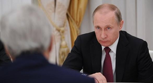 """(VIDEO) Gluma lui Putin către Kerry care a făcut înconjurul lumii: """"Ne-ați adus bani?"""""""
