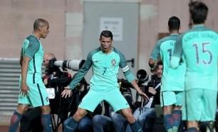 (VIDEO) Fază extraordinară reușită de Ronaldo în meciul cu Belgia