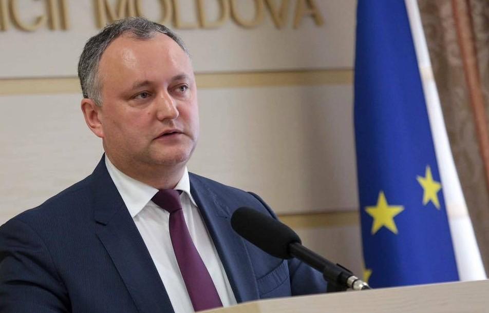 """(VIDEO) Dodon a boicotat Orășelul Europei, dar a mulțumit """"sincer"""" UE, prin vocea lui Ceban, pentru regimul fără vize și proiectele implementate în Moldova"""