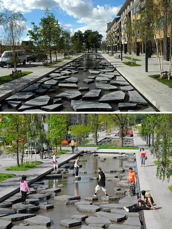 Strada pietrelor crăpate, din Enschede, Olanda