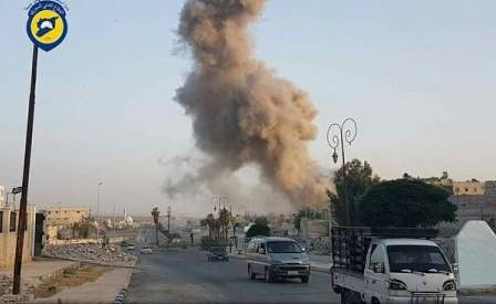 Siria: Cel puțin 47 de morți, în raiduri aeriene în est