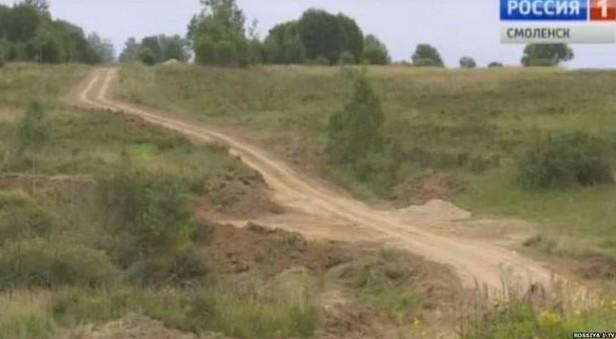 Se întâmplă în Rusia: Drumul era atât de prost, încât contrabandiştii s-au decis să-l asfalteze chiar ei