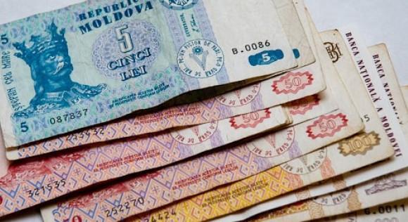 Leul moldovenesc se apreciază; Ratele de schimb pentru marți