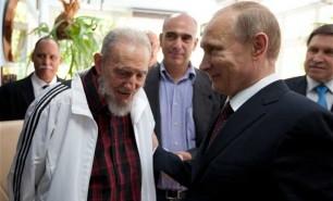 """Reacția lui Putin la decesul lui Castro: """"Un prieten adevărat şi loial"""""""