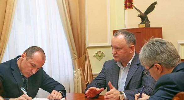 Igor Dodon şi pericolul federalizării Republicii Moldova
