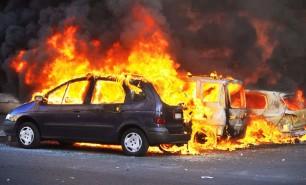 (VIDEO) 650 de mașini au fost incendiate de Anul Nou în Franța