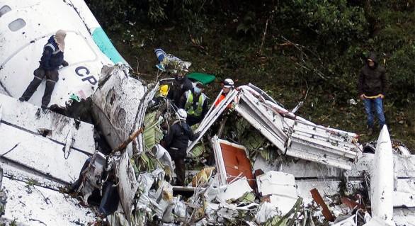 Noi detalii despre avionul prăbușit în Columbia