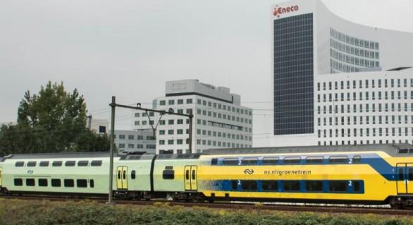 (VIDEO) Țara în care de la 1 ianuarie toate trenurile sunt alimentate de vânt