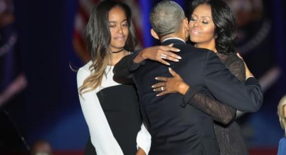 (VIDEO) Obama, către Prima Doamnă: O nouă generaţie ţinteşte mai sus pentru că te-a avut pe tine drept model