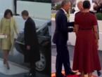 (VIDEO) Diferența de comportament dintre președinți: Vezi cum s-au purtat Trump și Obama cu soțiile lor la ceremonia de inaugurare