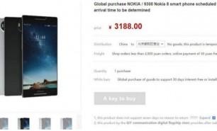 Nokia 8 tocmai a apărut pe un site din China