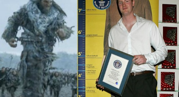 "Neil Fingleton, gigantul de 2,33 metri din ""Game of Thrones"" a decedat la 36 de ani"