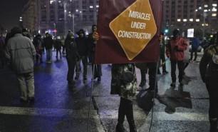 Mii de oameni au protestat în România a pentru a 20-a zi consecutiv