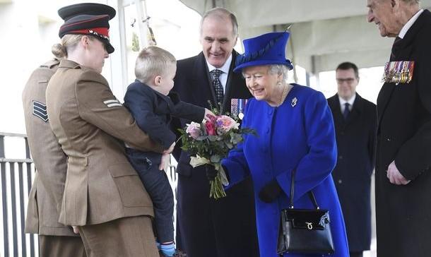 (VIDEO) Moment unic pentru Regina Marii Britanii, la un eveniment oficial