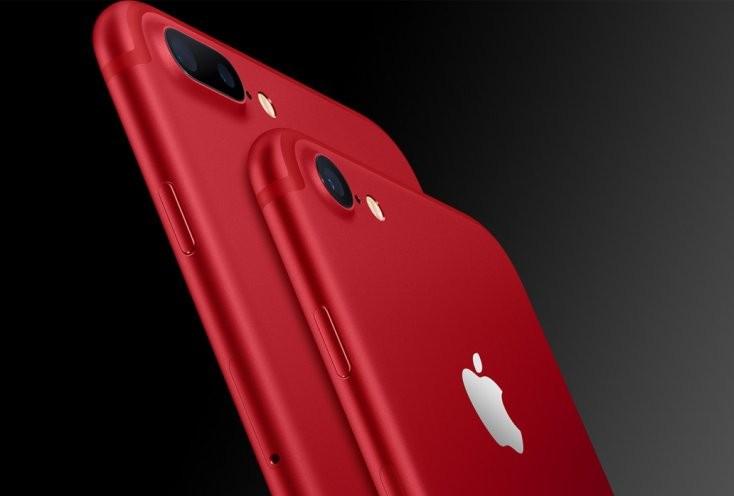 Schimbare inedită pentru Apple: Compania lansează iPhone 7 roșu