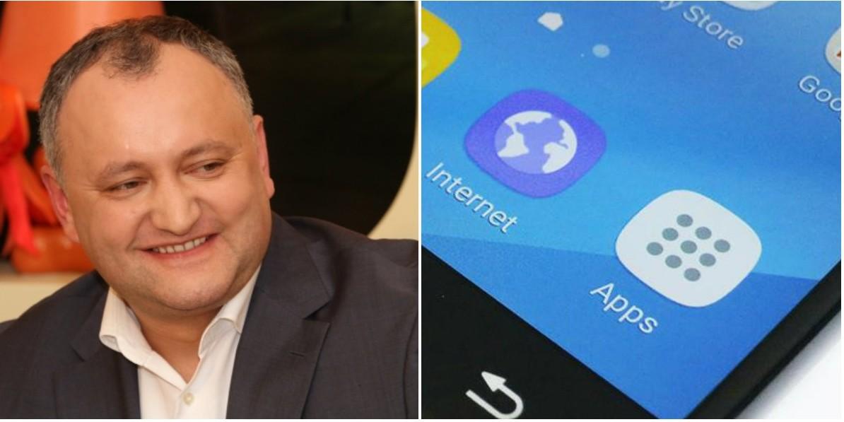 """Samsung și """"mâna lui Dodon"""": Limba """"moldovenească"""" poate fi găsită și pe noul sistem de operare al smartphone-ului"""