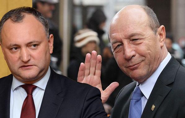 Băsescu, către Dodon: Vă imaginaţi cu câtă credibilitate aţi rămas în calitate de preşedinte în funcţie?
