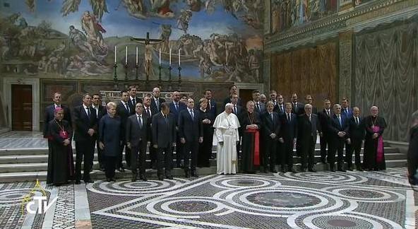 Papa Francisc s-a întâlnit cu lideri europeni. Suveranul pontif a pledat pentru unitate
