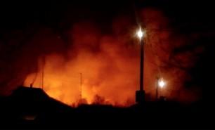(VIDEO) Explozie, urmată de incendiu la un depozit de armament din Ucraina