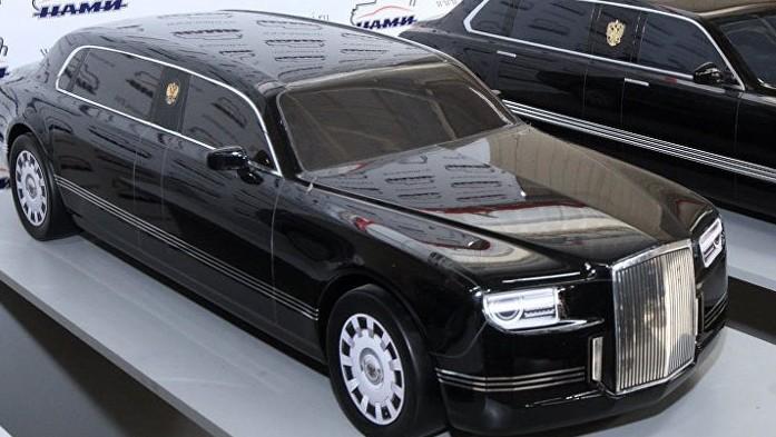 (FOTO) Cum arată limuzina lui Putin: Un proiect de 54 milioane de dolari cu motor Porsche