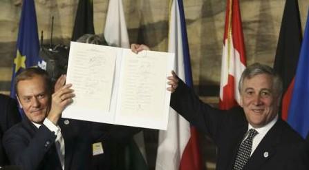 După 60 de ani, liderii UE și-au reînnoit angajamentul european