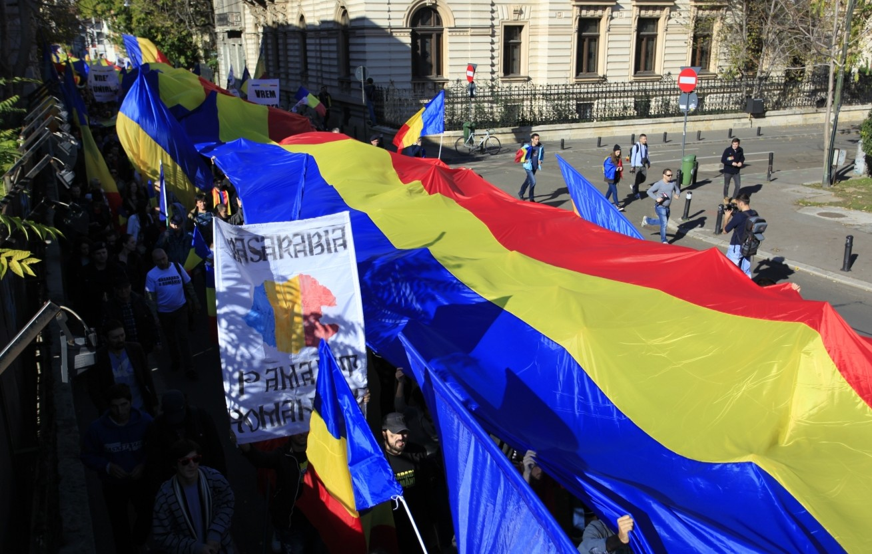 Un tricolor de circa 100 de metri va fi purtat astăzi prin Chișinău