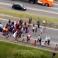 (VIDEO) Imagini terifiante în Brazilia. Un șofer intră în plin într-un grup de protestatari