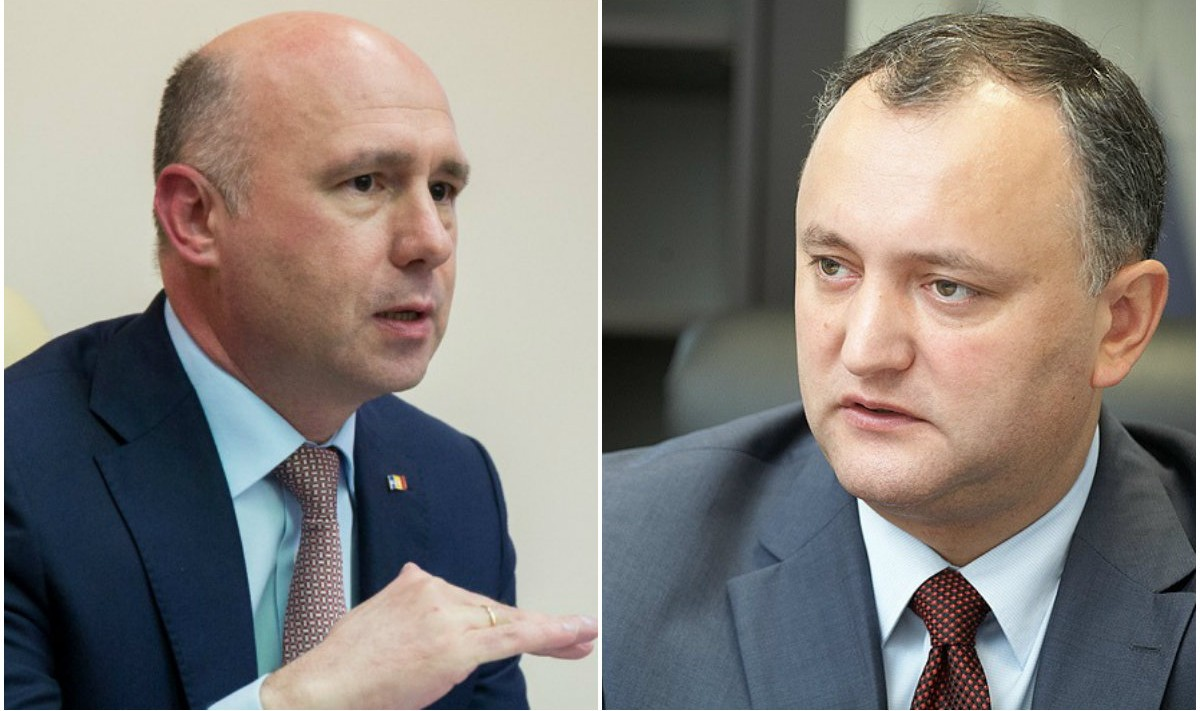 """Pavel Filip, către Igor Dodon: """"Să coboare cu picioarele pe pământ. PSRM nu e la guvernare"""""""
