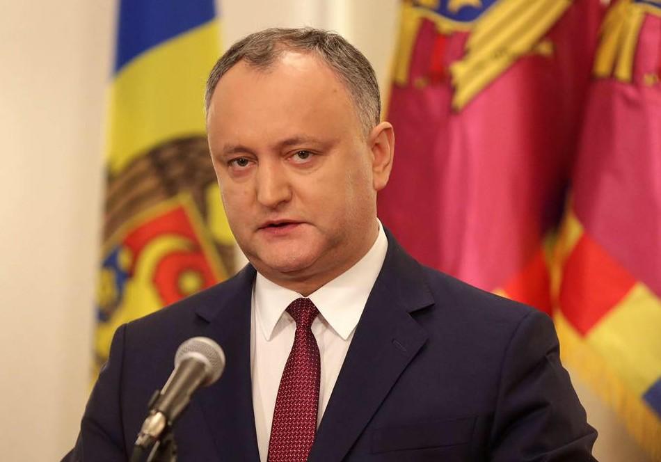 Igor Dodon: Republica Moldova ar putea obține statut de observator în cadrul Uniunii Euroasiatice în octombrie 2017