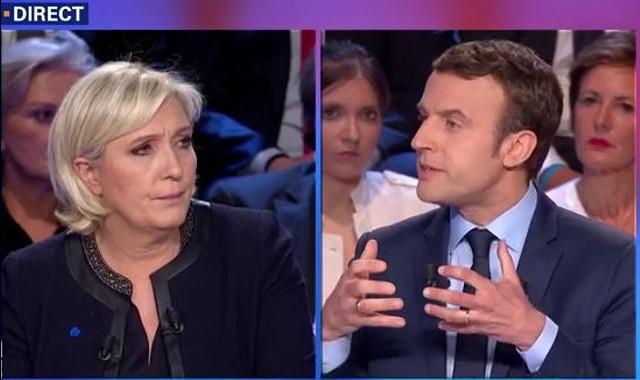 Lupta pentru președenția Franței continuă: Când va avea loc duelul televizat Macron-Le Pen