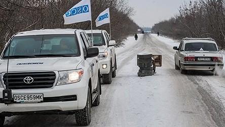 Un membru al misiunii OSCE în estul Ucrainei a decedat în urma exploziei unei mine