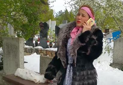 (VIDEO) Parodie de Paștele Blajinilor: Prin troiene cu pomene