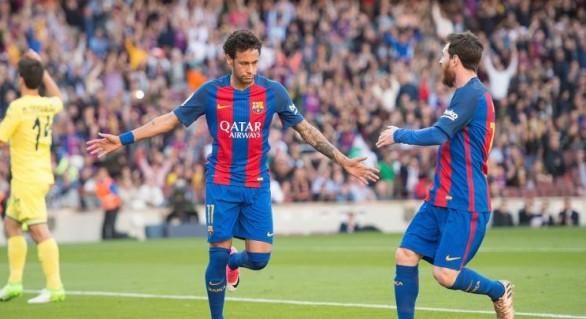 (VIDEO) Barcelona face spectacol cu Villareal și se menține în lupta pentru titlu