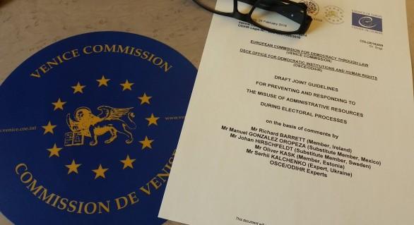 La o săptămână de la vizita în Moldova, la Chișinău vine o nouă delegație a Comisiei de la Veneția
