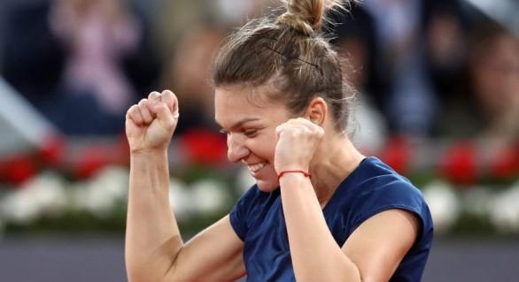 Simona Halep s-a clasat în finalele turneului de la Roma unde o va întâlni pe Kiki Bertens
