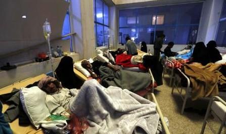 OMS: Holeră în Yemen: 242 de morți și 23.425 de cazuri în trei săptămâni