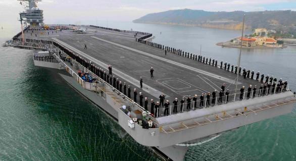 Administrația Trump trimite încă un portavion în largul peninsulei Coreea