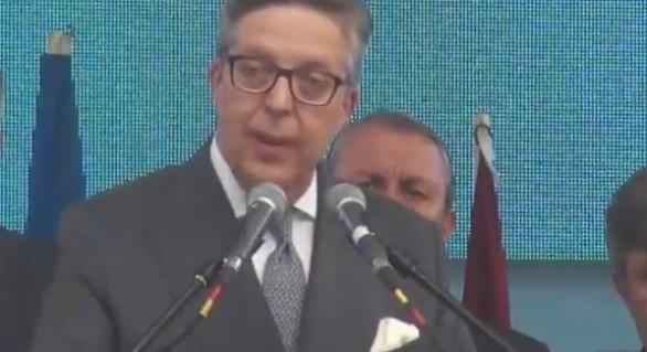 (VIDEO) Discursul emoționant în limba română al lui Pirkka Tapiola pe scena Orășelului European