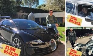 (FOTO) Fotbaliștii și mașinile lor: De câte minute au avut nevoie să joace pentru a le achita