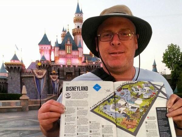 (VIDEO) Un american a mers la celebrul parc de distracții Disneyland 2.000 de zile consecutiv