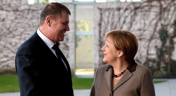 Merkel, după întâlnirea cu Iohannis: Vrem să comunicăm mai strâns, în UE, în planul Apărării