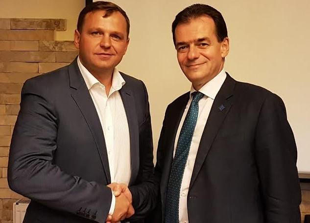 Andrei Năstase s-a întâlnit cu Ludovic Orban; Președintele PNL avertizează guvernarea de la Chișinău