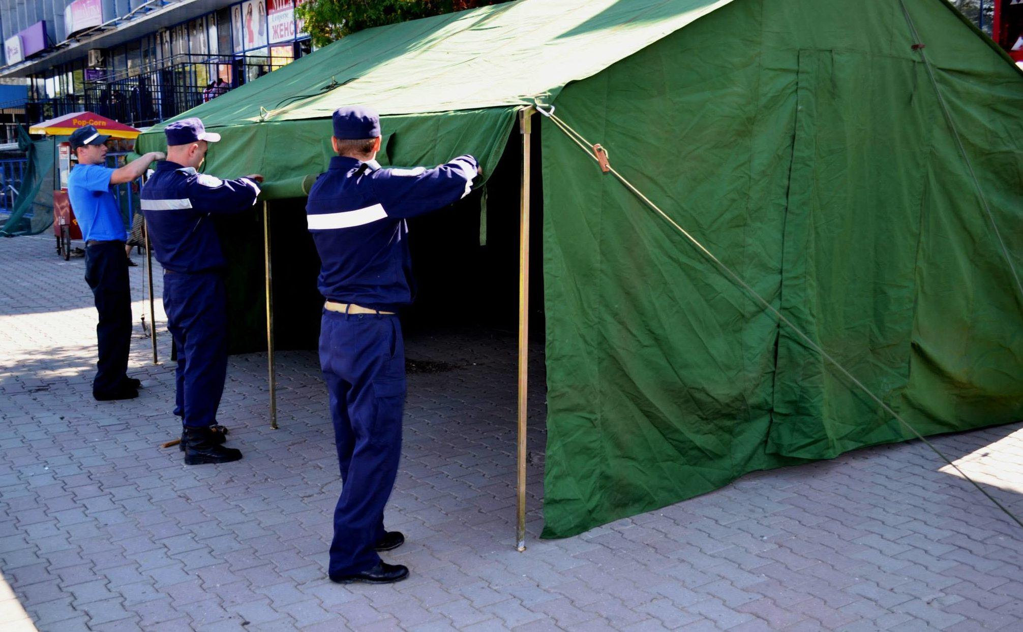 Cod galben în weekend: Numărul corturilor anticaniculă din capitală va fi dublat