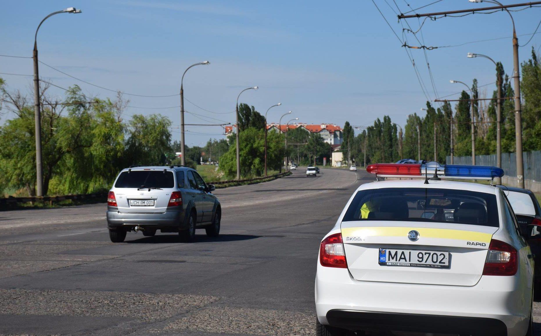 Restricții de circulație în cadrul vizitei oficiale a premierului României în Republica Moldova